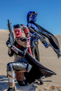 Firelight Cosplay as Twi'lek, Courtney Leigh as Twi'lek