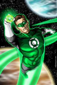 Green Lantern from Brian C. Roll