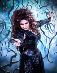 Princess Nightmare as Bellatrix Lestrange