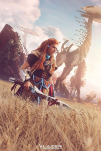 Kayliah Cosplay as Aloy