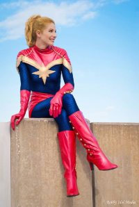Mandy Moore as Captain Marvel