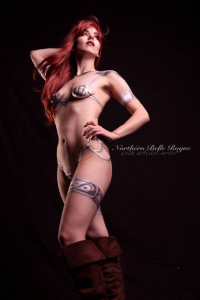 Northern Belle as Red Sonja