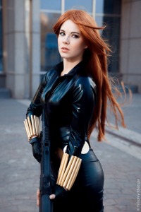 Anastasya Zelenova as Black Widow