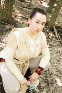 Kandell Cosplay as Rey