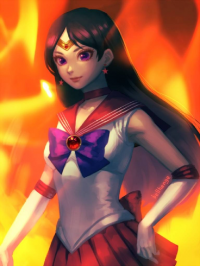 Sailor Mars from Bellhenge