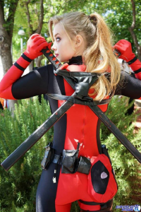 Lovisa D. Cosplay as Deadpool