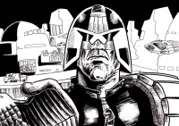 Judge Dredd from Jonathan Odds