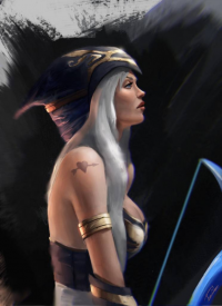 Ashe from Unknown Artist
