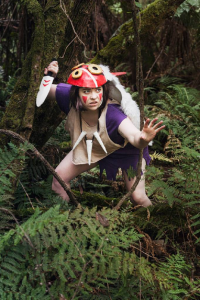 MoogleMini as Princess Mononoke