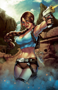 Lara Croft from Elias Chatzoudis