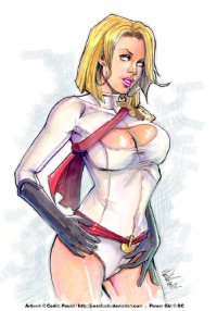 Power Girl from J-Estacado