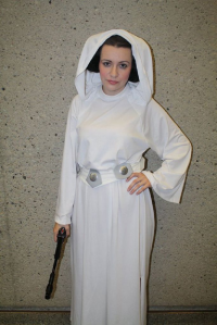 Ladyk Katrina Of House Gibson as Leia Organa