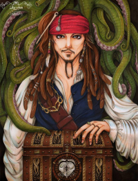 Captain Jack Sparrow from Sika-chan