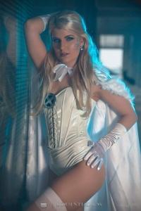 Alaska Mauve as Emma Frost