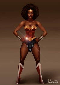 Wonder Woman from Isaiah Stephens