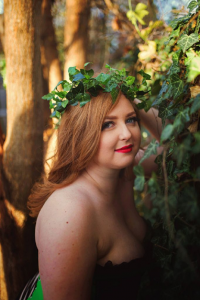 Unknown Female Artist as Poison Ivy