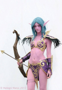 Lisa90Cosplay as Tyrande Whisperwind