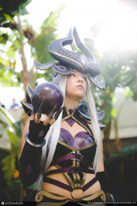 Royal Blue Cosplay as Syndra