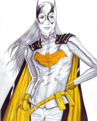 Batgirl from Adam Tupper