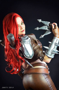 Jinx Kittie Cosplay as Katarina