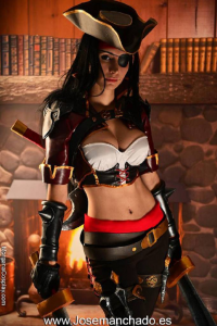 Morgana Cosplay Spain as Katarina