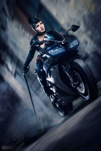 Issabel Cosplay as Catwoman