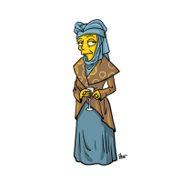 Orlenna Tyrell/The Simpsons from Adrien Noterdaem