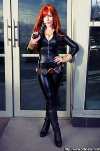 katyuskamoonfox as Black Widow