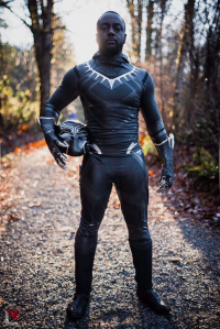 Escoblades as Black Panther
