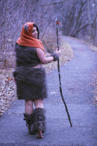Lady Di Cosplay as Ewok
