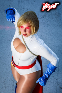 Scarlettspitfire as Power Girl