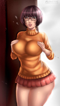 Velma Dinkley from Flowerxl