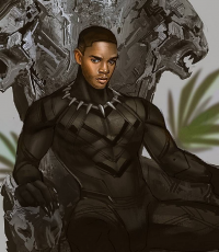 Black Panther from Mstrmagnolia