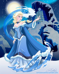 Elsa of Arendelle/Waterbender from Robby Cook
