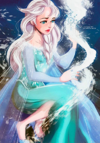 Elsa of Arendelle from Ale Castellanos