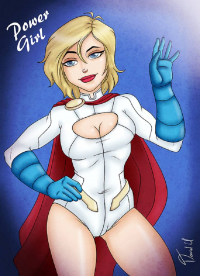 Power Girl from David Uriarte