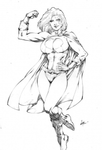 Power Girl from Caio Marcus