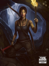 Lara Croft from 7days7sins