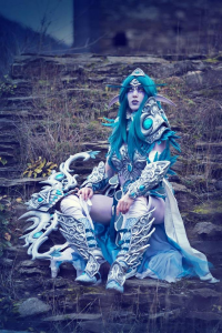 Laura Jansen as Tyrande Whisperwind