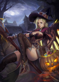 Mercy/Witch from Zoma Yuan