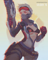 Soldier: 76 from chen HG