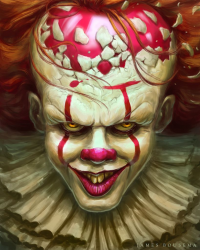 Pennywise from James Bousema