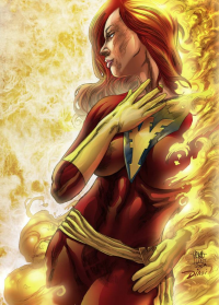 Dark Phoenix from David Lee