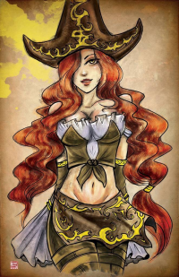 Miss Fortune from Tyrinecarver