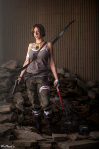 Aly Cat Cosplay as Lara Croft
