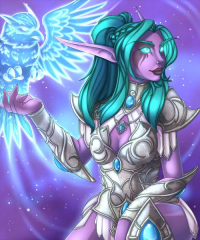 Tyrande Whisperwind from Fallingstardusk