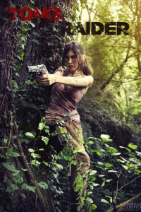 Ailanna as Lara Croft