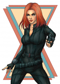Black Widow from Asenath23