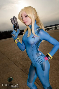 Ryuu Lavitz as Samus Aran