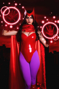 Juby Headshot as Scarlet Witch